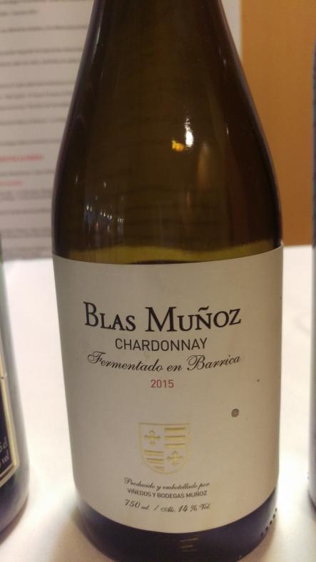 Blas Muñoz Chardonnay 2015