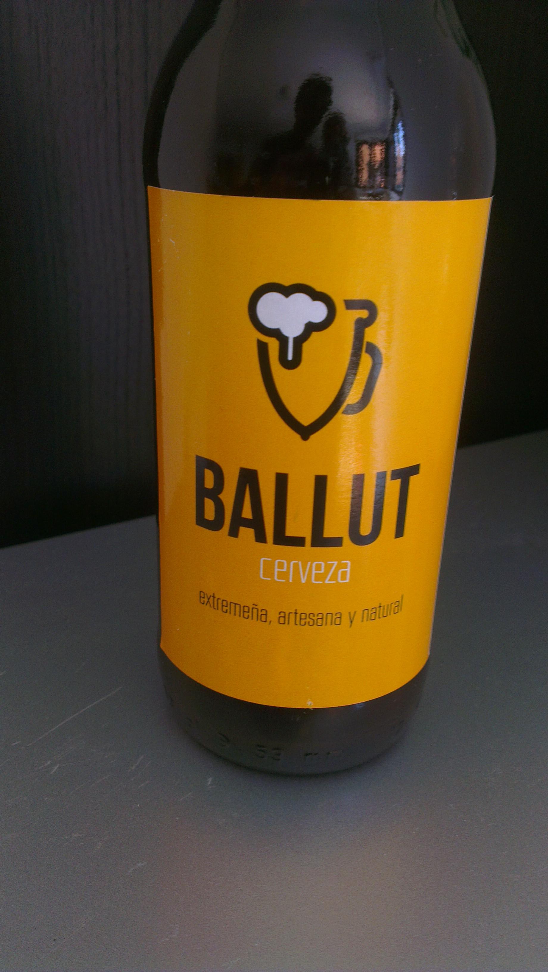 Ballut Blonde, esa peazo de cerveza extremeña!