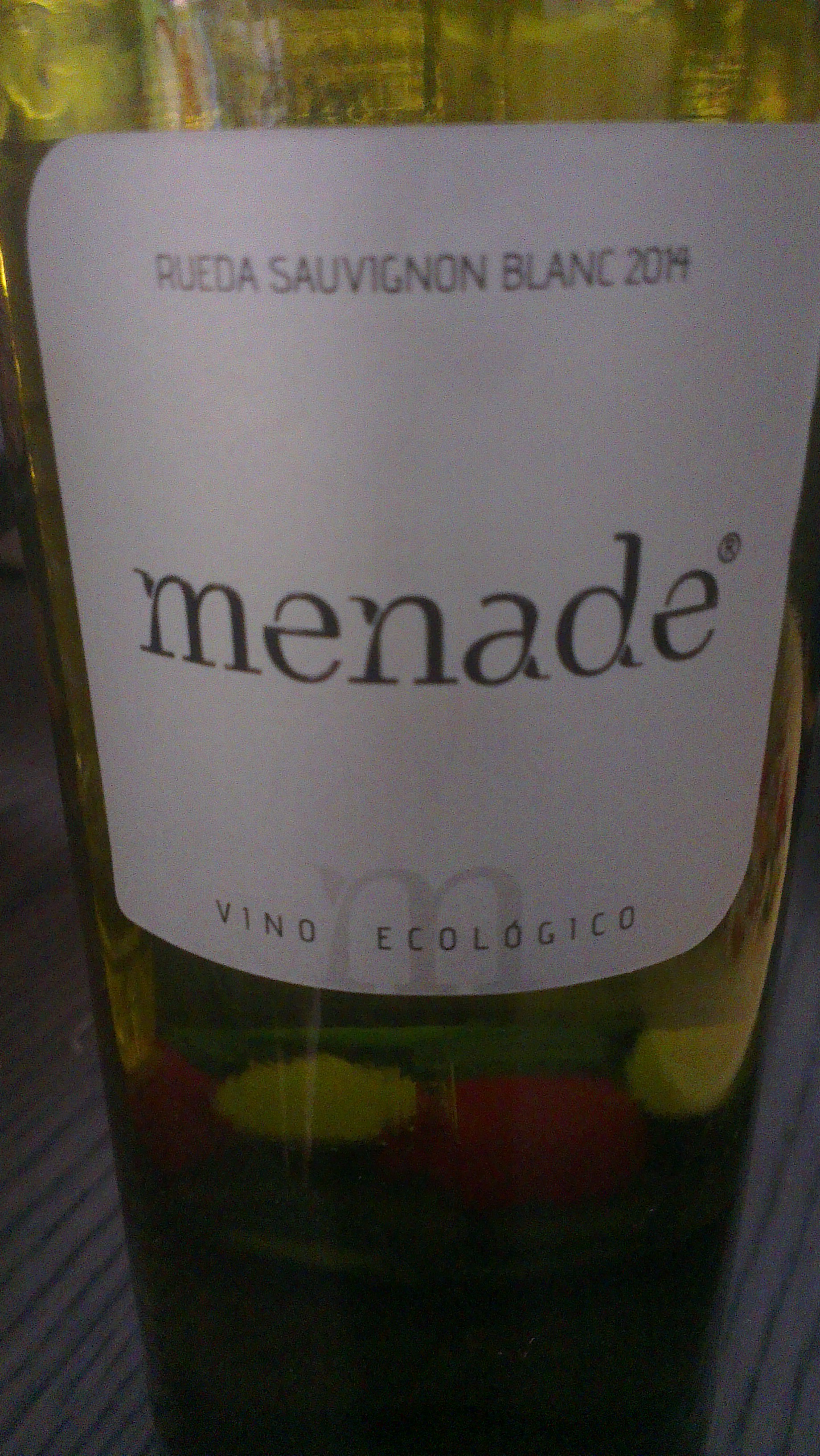 Menade Sauvignon Blanc 2014, un blanco fresco y ecológico de Rueda