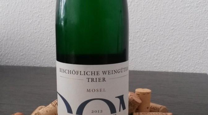 Bischöfliche Weingüter Trier Elbling trocken, un blanco con carácter del Mosel!