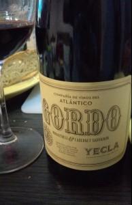 Gordo, Compañía de vinos Atlántico Yecla, Monastrell