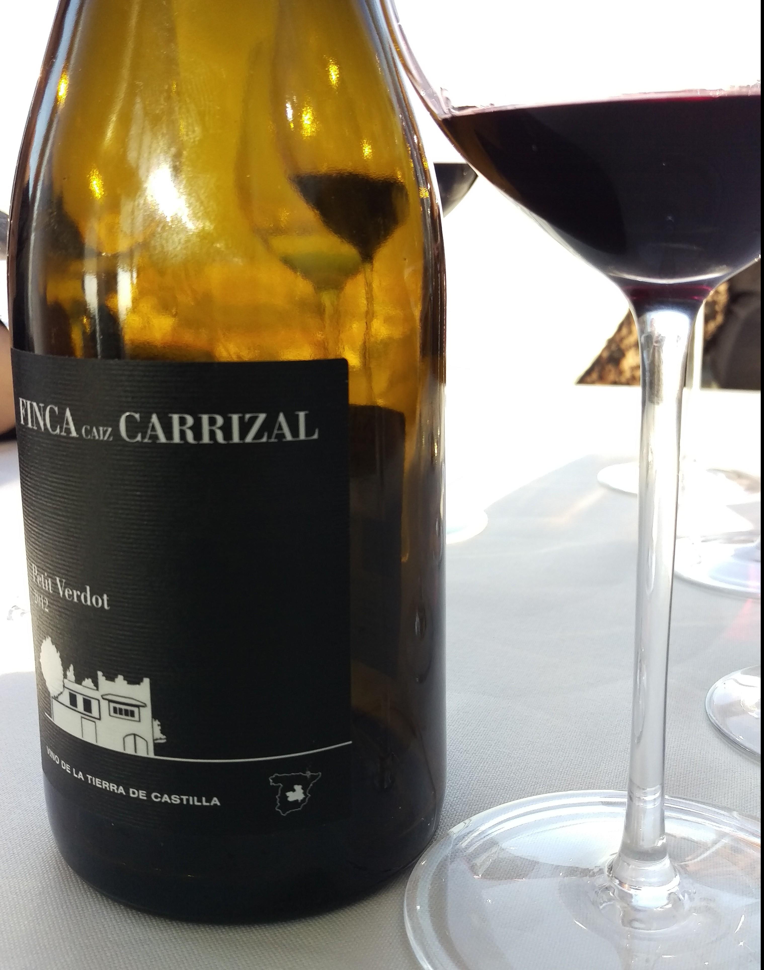 Finca Caiz Carrizal Petit Verdot 2012, frescura y complejidad de Castilla!