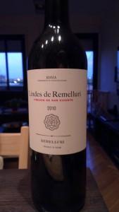 Lindes de Remelluri 2010 La Rioja