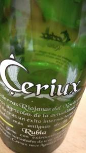 Ceriux Rubia Rioja