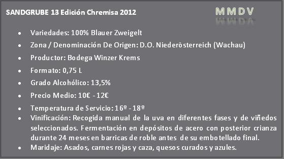 Sandgrube 13 Edición Chremisa 2012