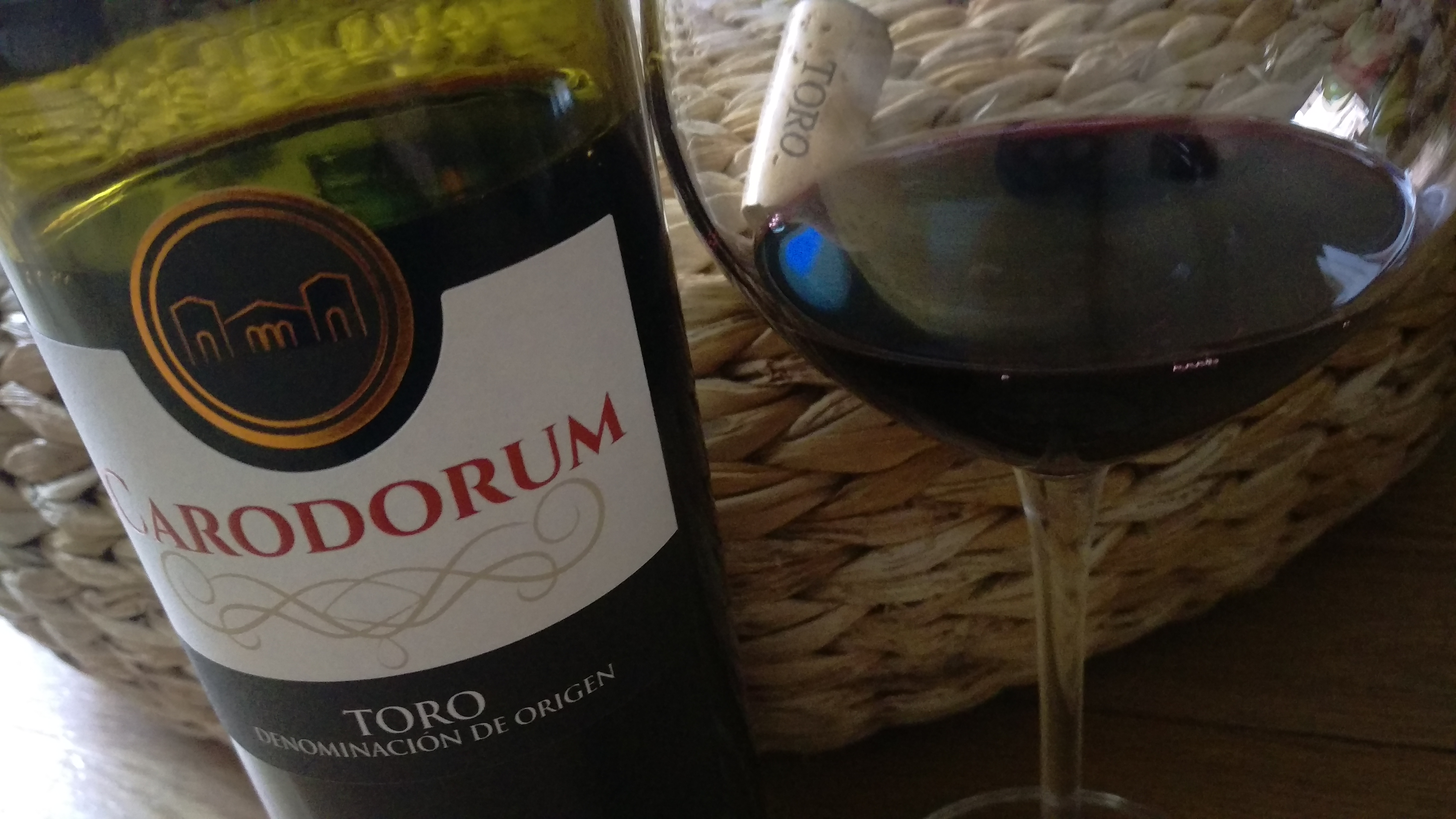 Carodorum crianza 2012, finura e intensidad aromática de Toro