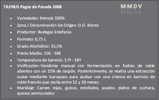 Tilenus Pagos de Posada 2008