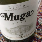 Muga fermentado en barrica, menudo blanco de Rioja!
