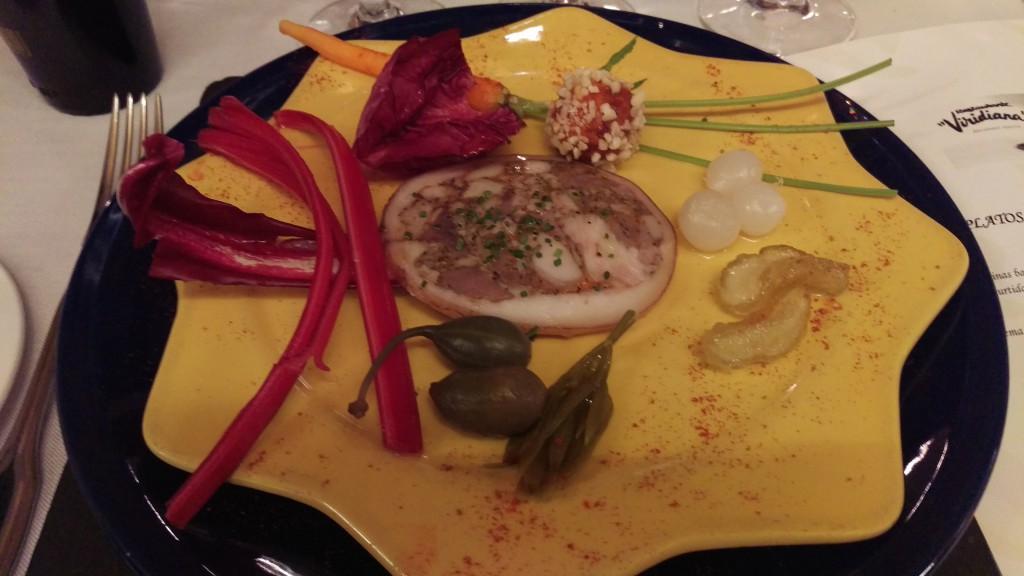 Chacinas Baleares Restaurante Viridiana
