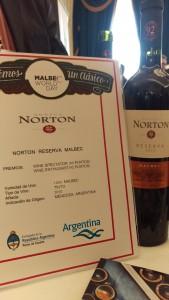 Norton Reserva 2010 Malbec Argentina