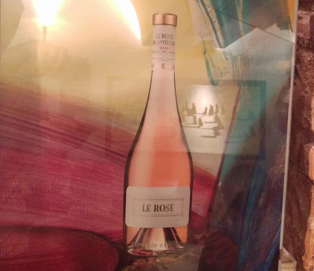 Le Rosé Bodegas Antídoto Ribera del Duero