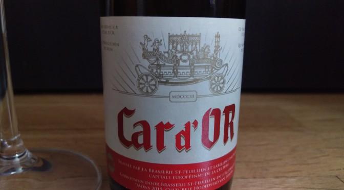 Car d'OR, una cerveza belga de oro!