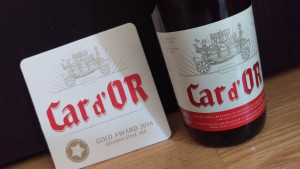 Car d'OR cerveza belga St.-Feuillen
