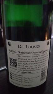 Dr. Loosen 2014 Riesling Spätlese