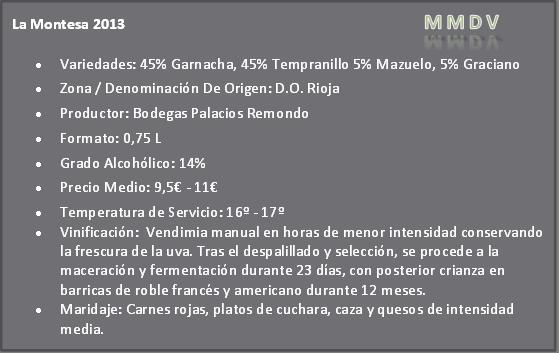 La Montesa 2013 Do Rioja