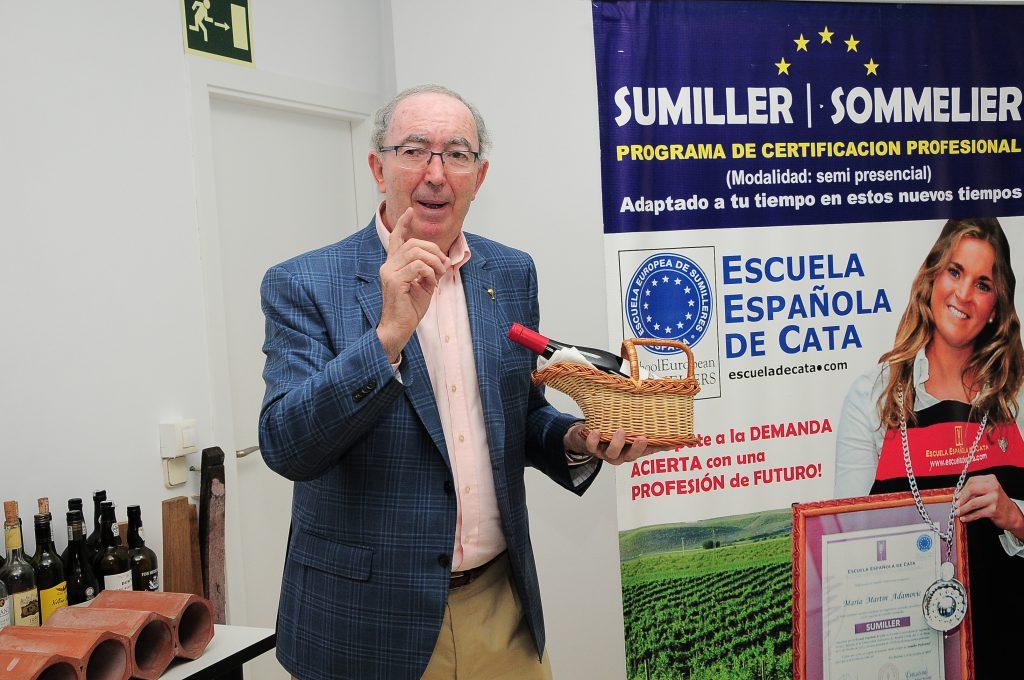 Custodio López Zamarra Escuela Española de Cata