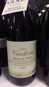 García Viadero Blanco de Albillo Bodegas Valduero